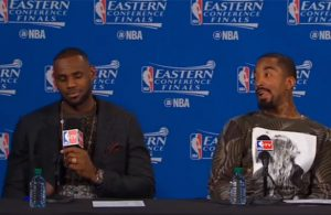 LeBron James and J.R. Smith Postgame Press Conference