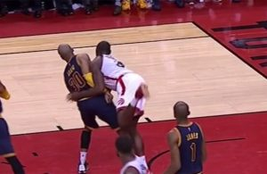 Cavs News: Dahntay Jones Suspended for Striking Bismack Biyombo in Groin