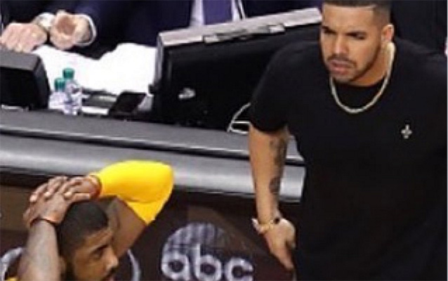 Kyrie Irving and Drake