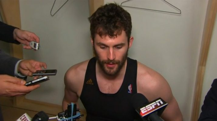 Kevin Love Interview