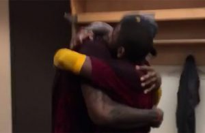 Video: LeBron and Kyrie Share Moment After Game 6