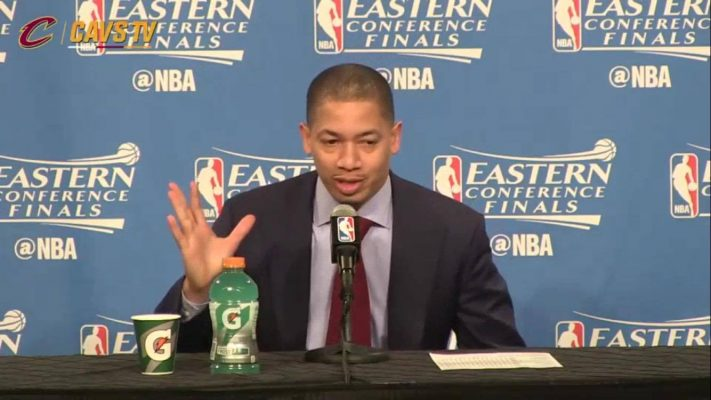 Tyronn Lue press conference