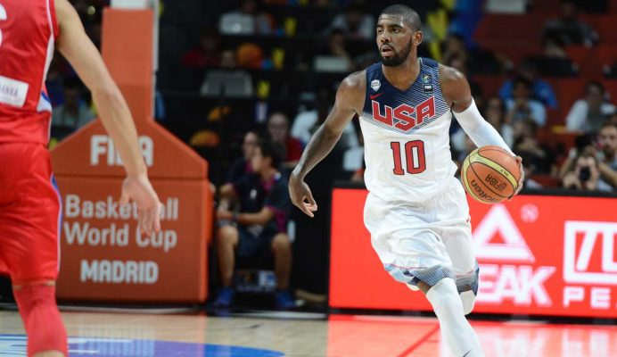 Kyrie Irving Accepts Invitation to Play on Olympic Team