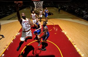 LeBron James vs. Golden State Warriors
