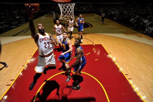 LeBron James vs. Golden State Warriors