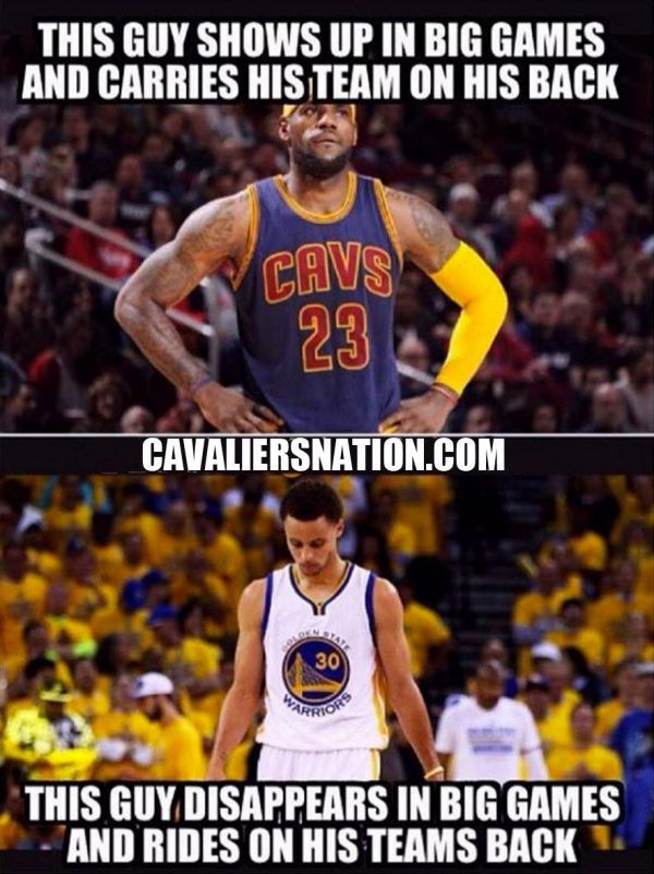Top 10 Hilarious Memes from Game 5 of NBA Finals | Page 10 of 10 | Cavaliers Nation