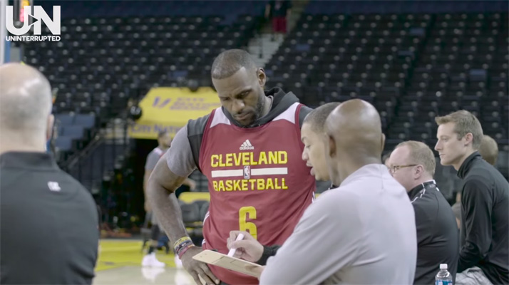 Video: LeBron Explains Cavs' Game Plan Going Into Game 2