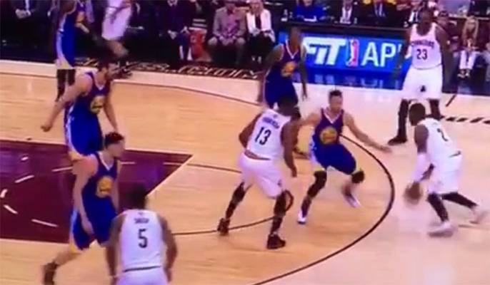 Video: Kyrie Irving Breaks Stephen Curry's Ankles Then Nails Jumper