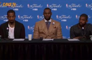 Video: Reporter Asks Awful Question and James, Irving, Smith Respond in Best Way Possible