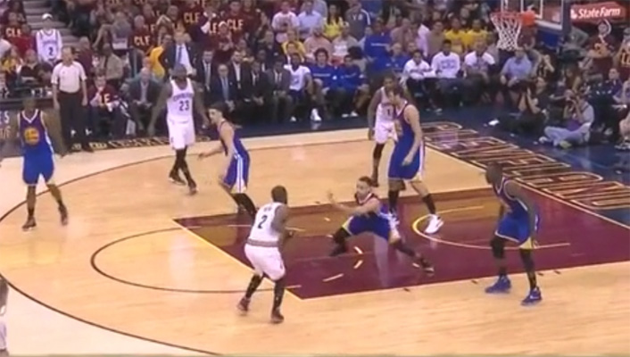 Video: Kyrie Irving Puts Steph Curry on Skates