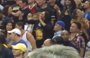 Video: Stephen Curry's Family Goes at Cleveland Crowd After His Ejection