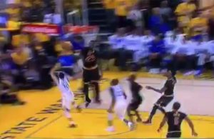Video: LeBron James Rejects Steph Curry