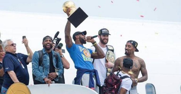 LeBron James Sends a Message to All the Haters