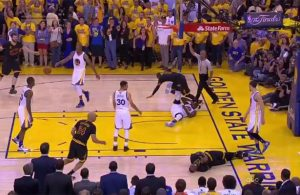 Video: Draymond Green Kicking Kyrie Irving in the Groin