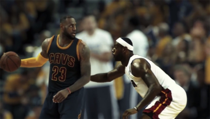 LeBron James vs. LeBron James