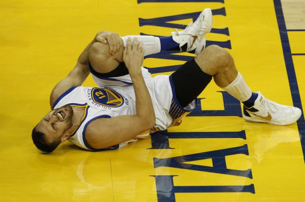 Warriors Center Andrew Bogut to Miss Rest of NBA Finals
