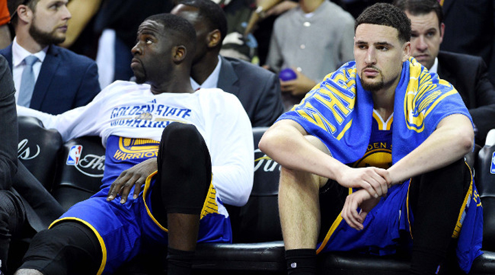 Draymond Green Throws Shade at Klay Thompson for Not Congratulating Cavs
