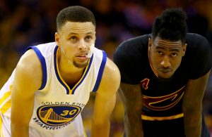 Stephen Curry and Iman Shumpert
