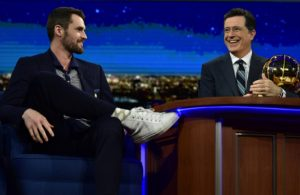 Kevin Love Stephen Colbert