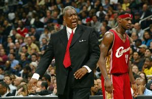 Paul Silas and LeBron James