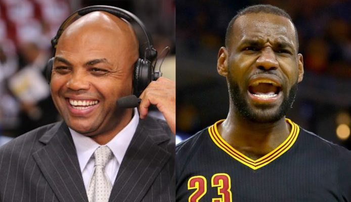 Charles Barkley and LeBron James