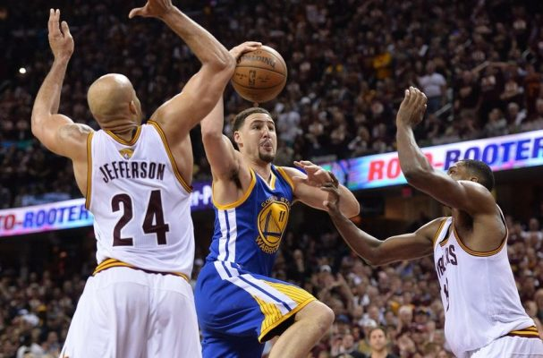 richard-jefferson-tristan-thompson-klay-thompson-nba-finals-golden-state-warriors-cleveland-cavaliers-850x560