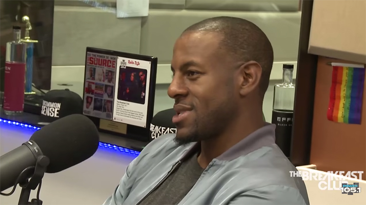 Video: Andre Iguodala Takes Shot at Cavs and Completely Discredits Their Championship