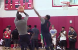 Video: Kyrie Irving Seen Schooling All-Star Teammates During Team USA Practice