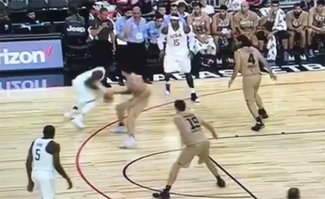 Video: Kyrie Irving Breaks Argentina Defenders Ankles