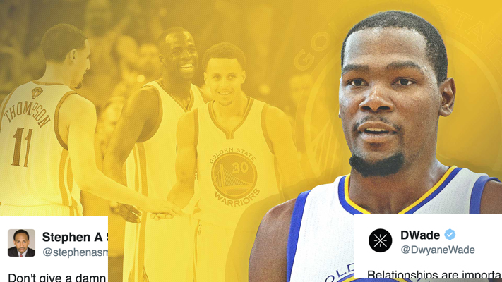 Kevin Durant Warriors Tweets