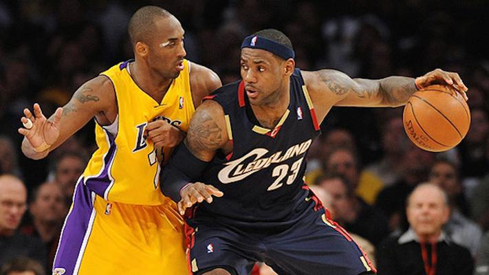 Kobe Bryant vs. LeBron James