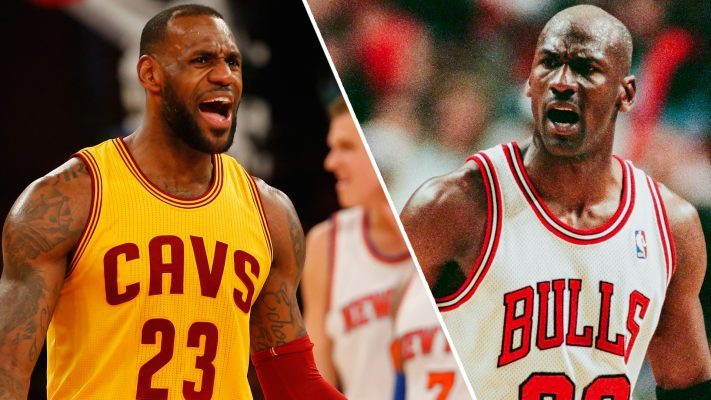 LeBron James Michael Jordan