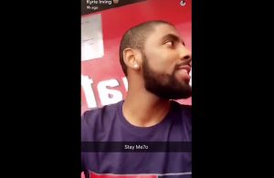 Kyrie Irving Team USA Snapchat