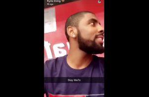 Kyrie Irving Team USA Snapchat
