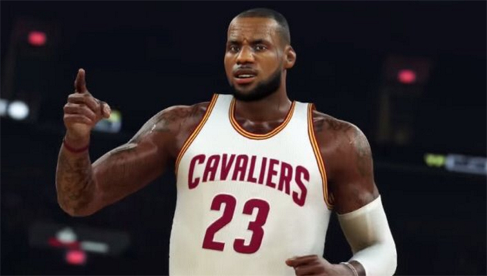 LeBron James NBA 2K17