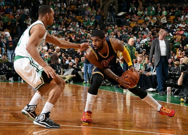 Avery Bradley and Kyrie Irving