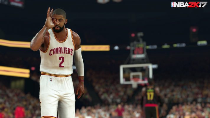 Kyrie Irving NBA 2K17