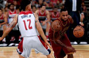 LeBron James NBA 2K17