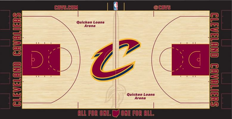 Quicken Loans Arena Court