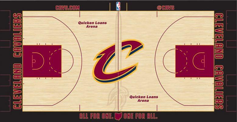 Quicken Loans Arena Court