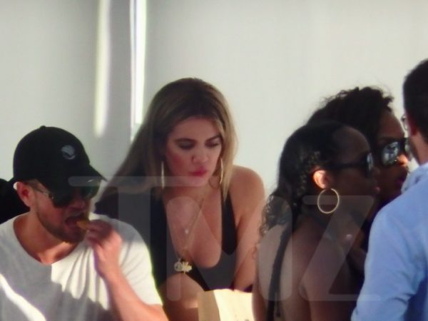 Tristan Thompson and Khloe Kardashian in Cabo