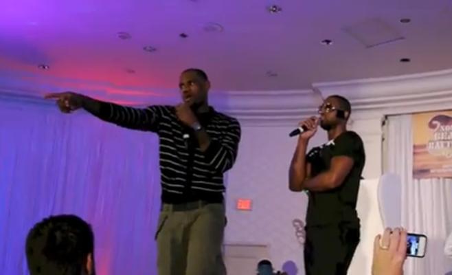 LeBron James Singing