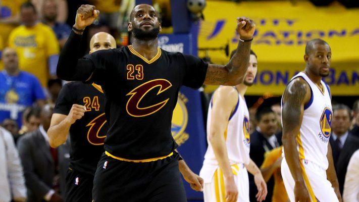 Cavs Warriors Game 7 NBA Finals