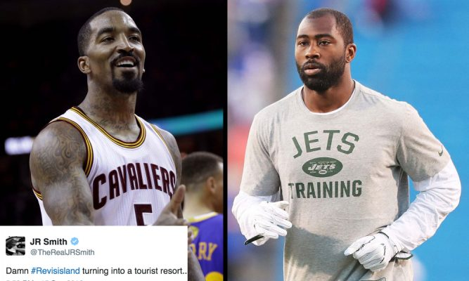 J.R. Smith and Darrelle Revis