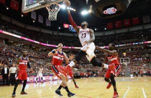 LeBron James Preseason Washington Wizards