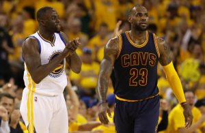 Draymond Green, LeBron James