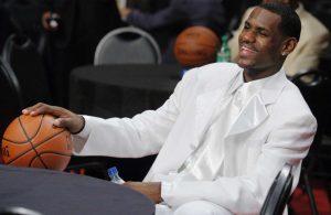 LeBron James Draft