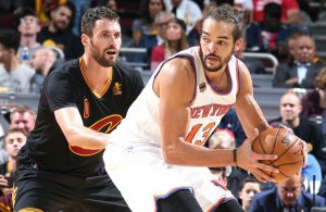 Kevin Love and Joakim Noah