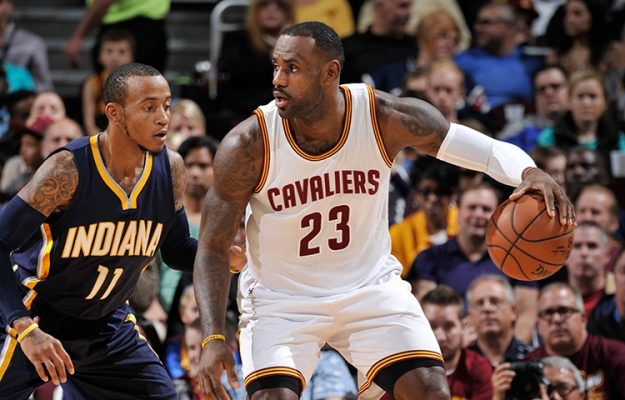 LeBron James vs. Indiana Pacers