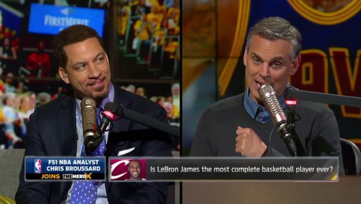 Chris Broussard Colin Cowherd